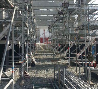 Sulfur recycle unit-4 construction – Lukoil Neftochim