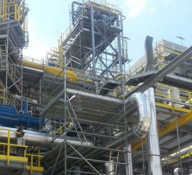 Heavy residue process complex construction – Lukoil Neftochim